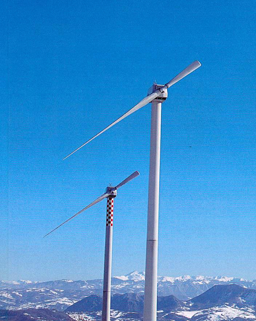 Figure 3.4 Single-bladed wind turbine