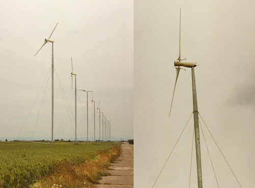 Figure 3.5 Two-bladed wind turbines, Carter Wind Turbines Ltd