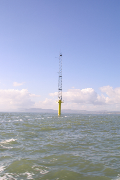 Figure 5.1 An offshore meteorological mast